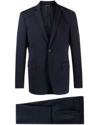 Tonello - Blue Single-breasted Wool Suit - Lyst