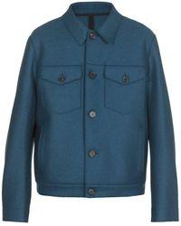 Harris Wharf London Coats - Blue