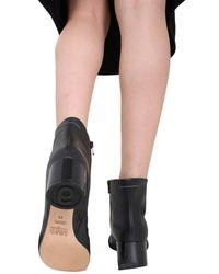 "MM6 by Maison Martin Margiela - ""6"" Low Heel Boots - Lyst"