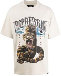 Represent T-shirts And Polos - White