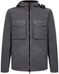 Stone Island Coats Grey