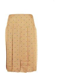 Tory Burch Skirts Beige - Multicolour