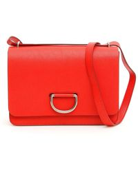 Burberry The D-ring Crossbody Bag - Red