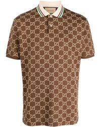 GG Supreme Short-sleeve Polo Shirt