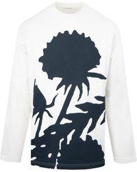 Craig Green Flower Sweatshirt - White