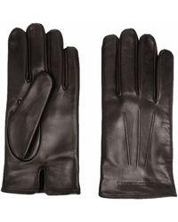 Emporio Armani Gloves Brown
