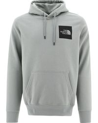 "The North Face ""fine"" Hoodie - Grey"