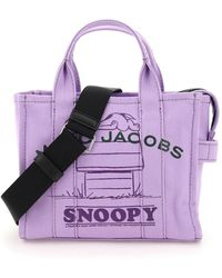Marc Jacobs The Snoopy Mini Tote Bag - Purple