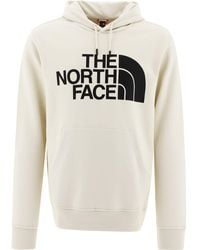 """The North Face """"standard"""" Hoodie - White"""