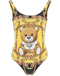 Moschino Teddy Scarf Swimsuit - Multicolour