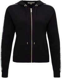 MICHAEL Michael Kors Sweatshirt With Logoed Band - Black