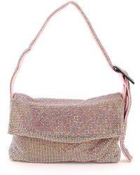 Benedetta Bruzziches La Monique Small Crystal Mini Bag - Pink