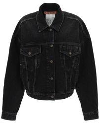Acne Studios Denim Jacket - Black