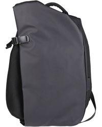 Côte&Ciel Dark Grey Isar Medium Backpack - Black