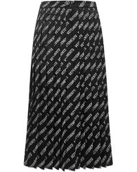 Vetements Skirts Black