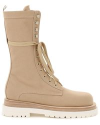 Magda Butrym - Urban Jungle Lace-up Boots - Lyst