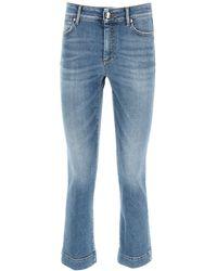 Sportmax Flared Denim Jeans 25 Cotton,denim - Blue