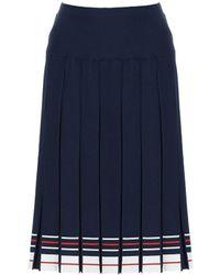 Thom Browne Skirts - Blue
