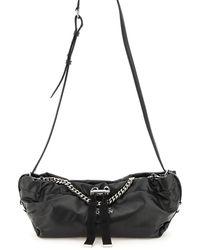 Alexander McQueen The Bundle Mini Leather Bag - Black