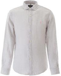 Polo Ralph Lauren Linen Shirt - Gray