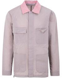 032c Nylon Worker Jacket - Pink