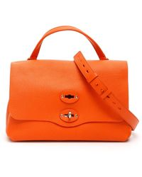 Zanellato Pura Postina S Bag - Orange