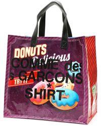 Comme des Garçons Pop Logo Shopping Bag - Multicolor