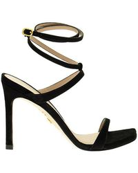 Stuart Weitzman Ellsie 100 - Sandal - Black
