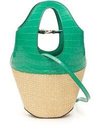 Danse Lente Small Tote Bag - Green