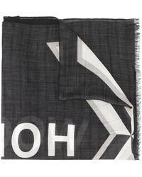 Undercover Shadow Hoppers Logo Scarf - Multicolour