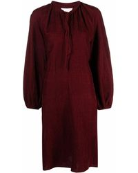 Forte Forte Bow-tie Dress - Brown