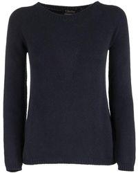 Max Mara Giorgio Cashmere Yarn Sweater - Blue
