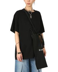 MM6 by Maison Martin Margiela Shopping Bag - Black