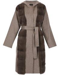 Fabiana Filippi Coats Grey