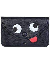 Anya Hindmarch Envelope Zany Card Holder - Blue