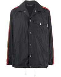 Palm Angels - Miami Buttoned Coach Jacket - Lyst