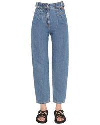 MSGM - Regular Fit Jeans - Lyst