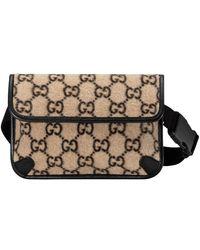 Gucci Belt Bag Beige Ebony/black - Multicolor
