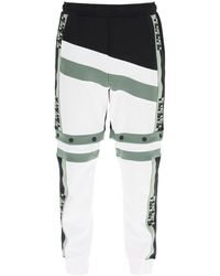 Fendi Color Block Trousers/shorts - Multicolor