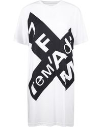 7 For All Mankind Cotton T-shirt Dress - White