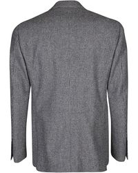 Lardini Grey Wool Blend Two Piece Suit