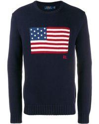 Ralph Lauren - Sweaters Blue - Lyst