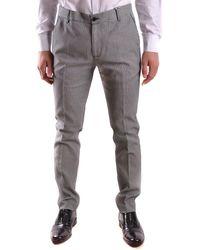 Daniele Alessandrini Grey Trousers