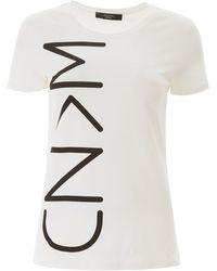 Weekend by Maxmara Logo Print T-shirt - White