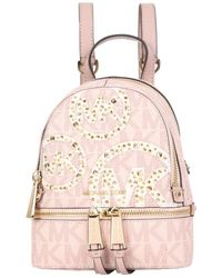 MICHAEL Michael Kors - Mini Rhea Backpack - Lyst