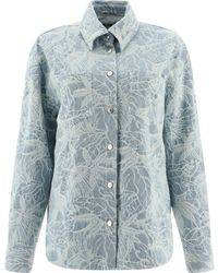 MSGM Light Cotton Jacket - Blue