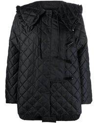 Ganni Coats Black
