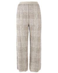 Gentry Portofino Gentryportofino Trousers Beige - Natural