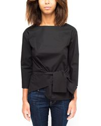 Brian Dales Cotton Shirt Black