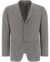 Biagio Santaniello Single-breasted Blazer With Three Buttons - Natural